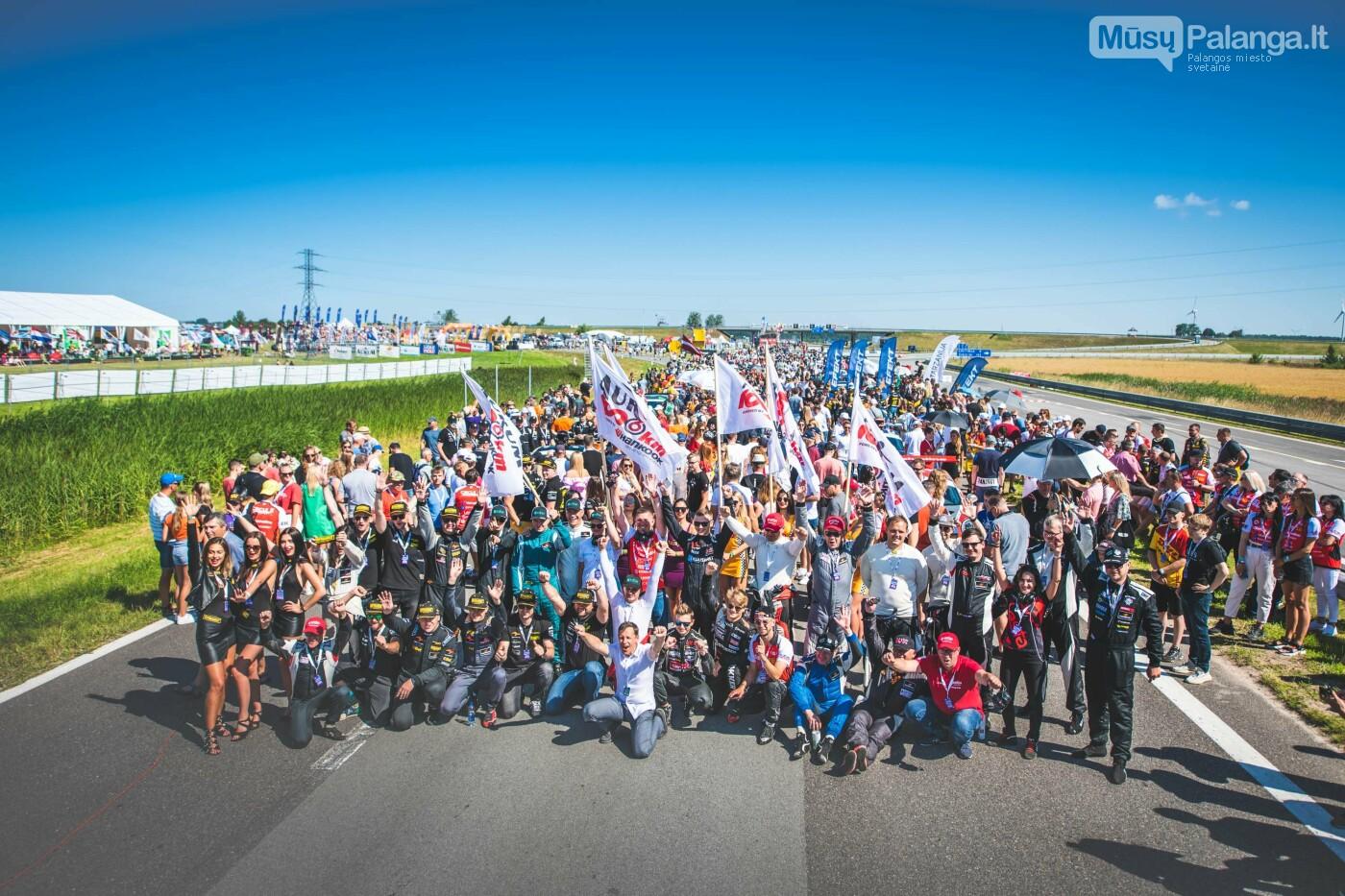 """Palangoje startavo """"Aurum 1006 km"""" lenktynės, nuotrauka-9, Vytauto PILKAUSKO ir Arno STRUMILOS nuotr."""