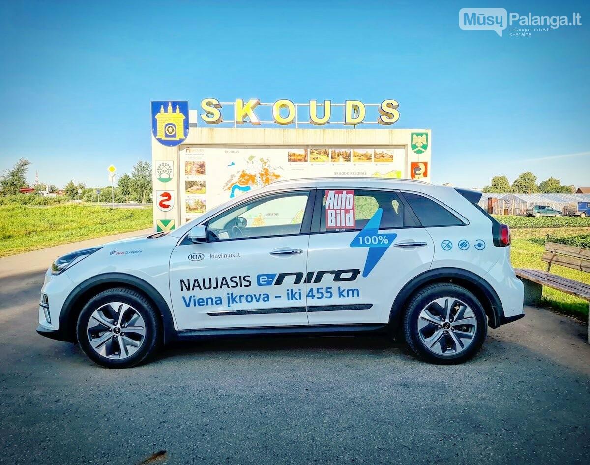 Naujas rekordas: elektromobiliu aplink Lietuvą per 22 valandas, nuotrauka-9, Vytauto PILKAUSKO ir rekordo autorių nuotr.