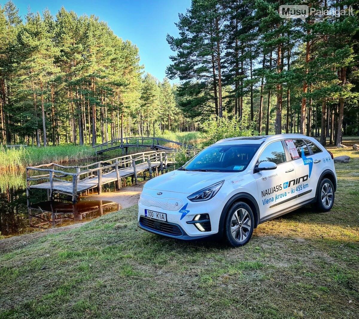 Naujas rekordas: elektromobiliu aplink Lietuvą per 22 valandas, nuotrauka-10, Vytauto PILKAUSKO ir rekordo autorių nuotr.