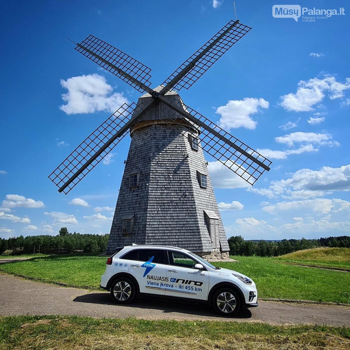 Naujas rekordas: elektromobiliu aplink Lietuvą per 22 valandas, nuotrauka-7, Vytauto PILKAUSKO ir rekordo autorių nuotr.