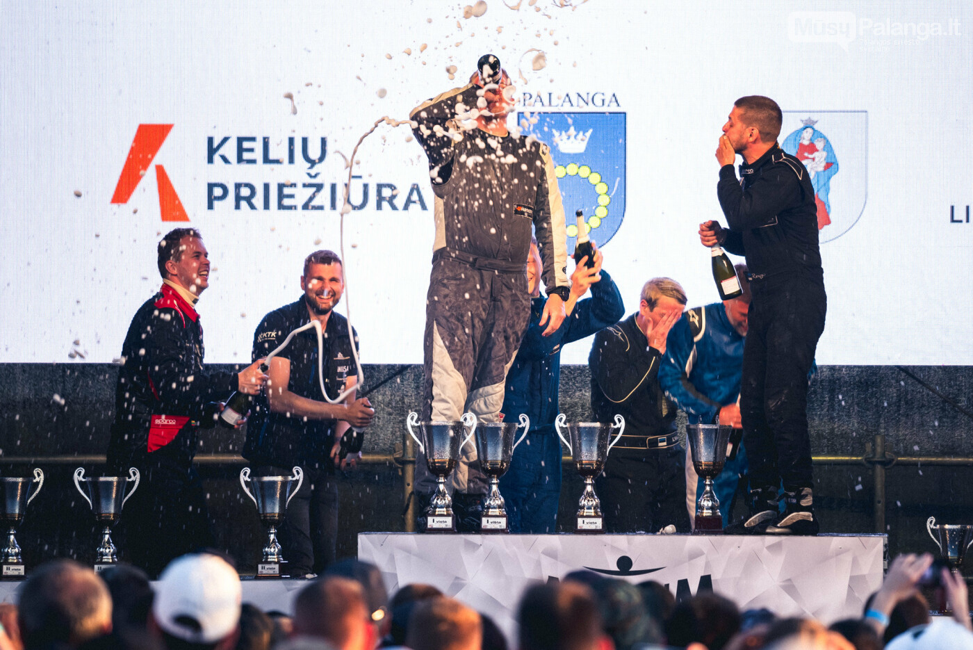 """""""Aurum 1006 km"""" lenktynėse Palangoje – praėjusių metų nugalėtojų triumfas , nuotrauka-23, Vytauto PILKAUSKO ir Arno STRUMILOS nuotr."""