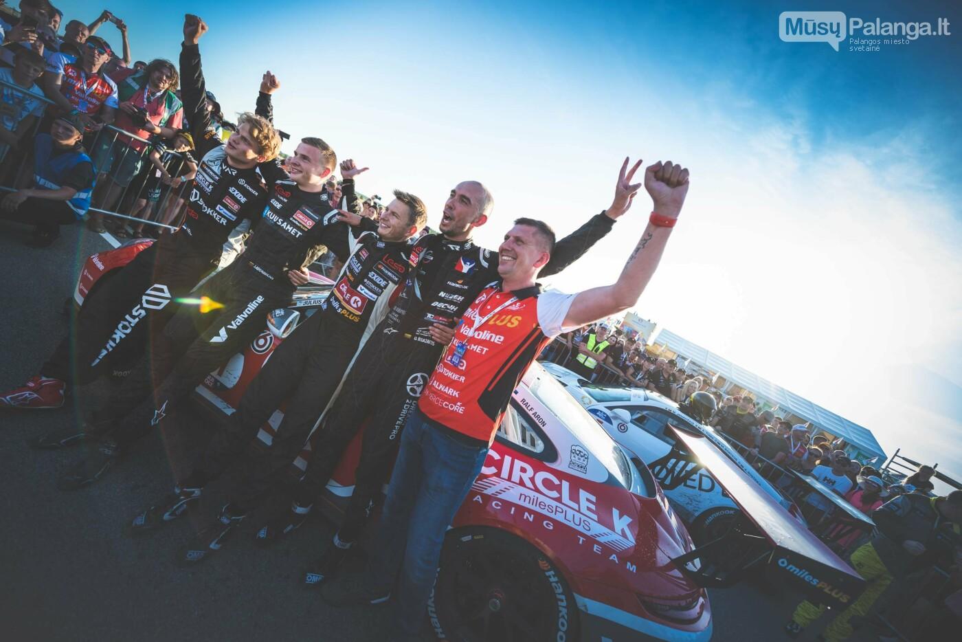 """""""Aurum 1006 km"""" lenktynėse Palangoje – praėjusių metų nugalėtojų triumfas , nuotrauka-2, Vytauto PILKAUSKO ir Arno STRUMILOS nuotr."""