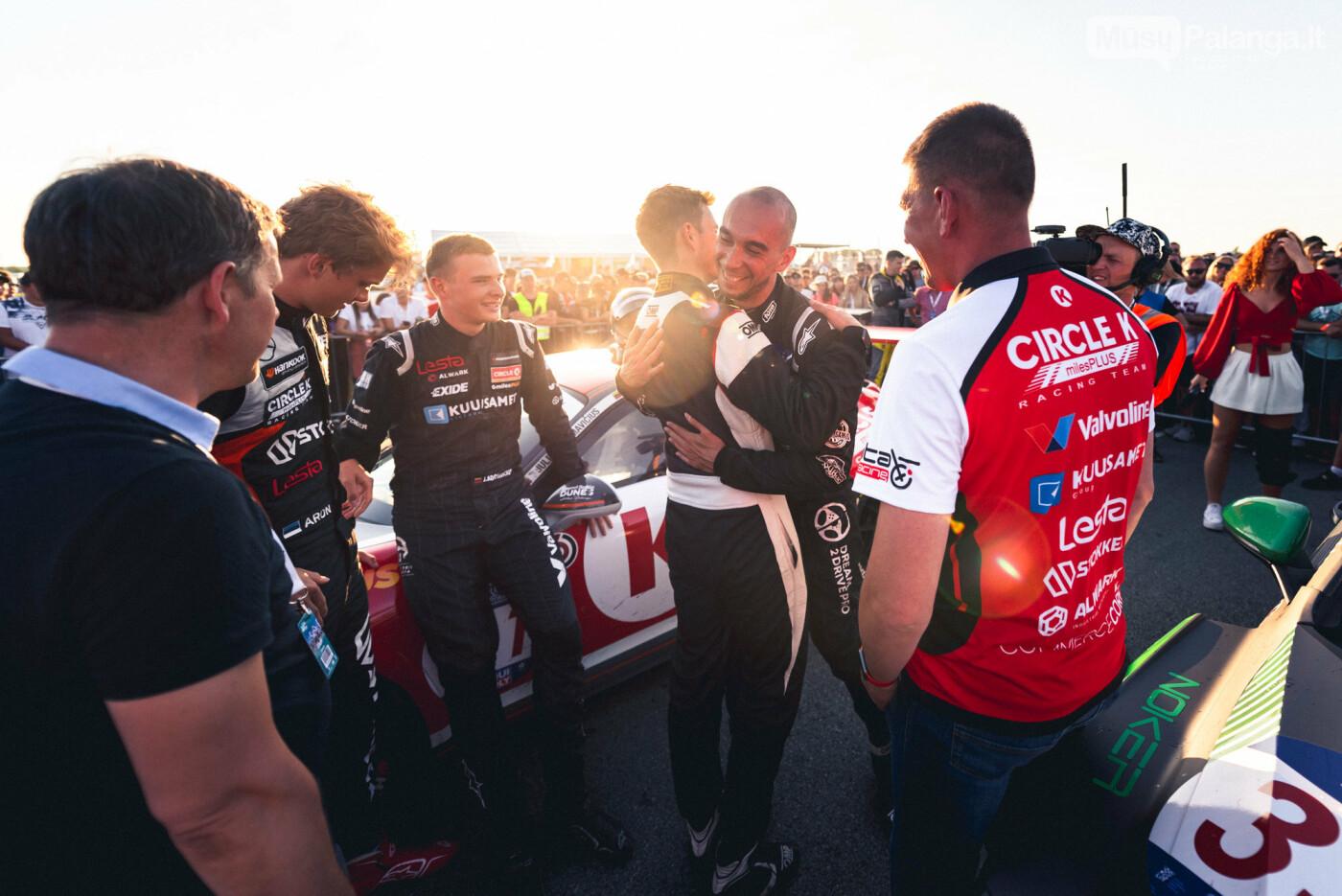 """""""Aurum 1006 km"""" lenktynėse Palangoje – praėjusių metų nugalėtojų triumfas , nuotrauka-8, Vytauto PILKAUSKO ir Arno STRUMILOS nuotr."""