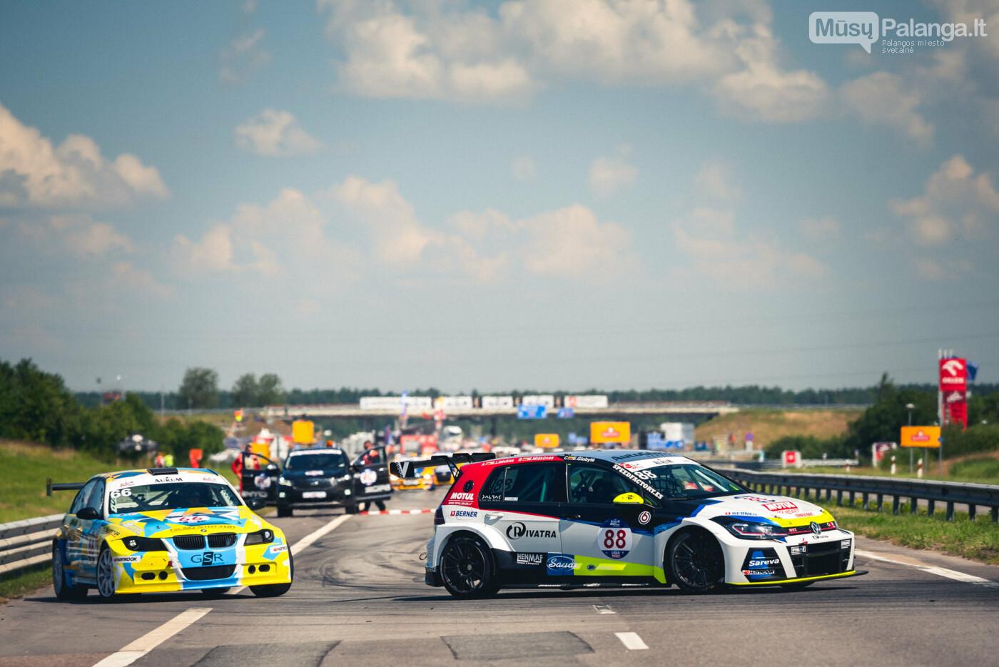 """Įpusėjo """"Aurum 1006 km lenktynės"""", nuotrauka-9, Vytauto PILKAUSKO ir Arno STRUMILOS nuotr."""