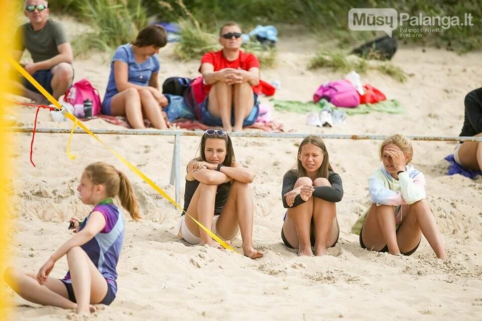 Palangoje pasibaigus U-14 ir U-16 jaunimo paplūdimio tinklinio čempionatui emocijos dar nenuslūgo, nuotrauka-5, Mato Baranausko nuotr.