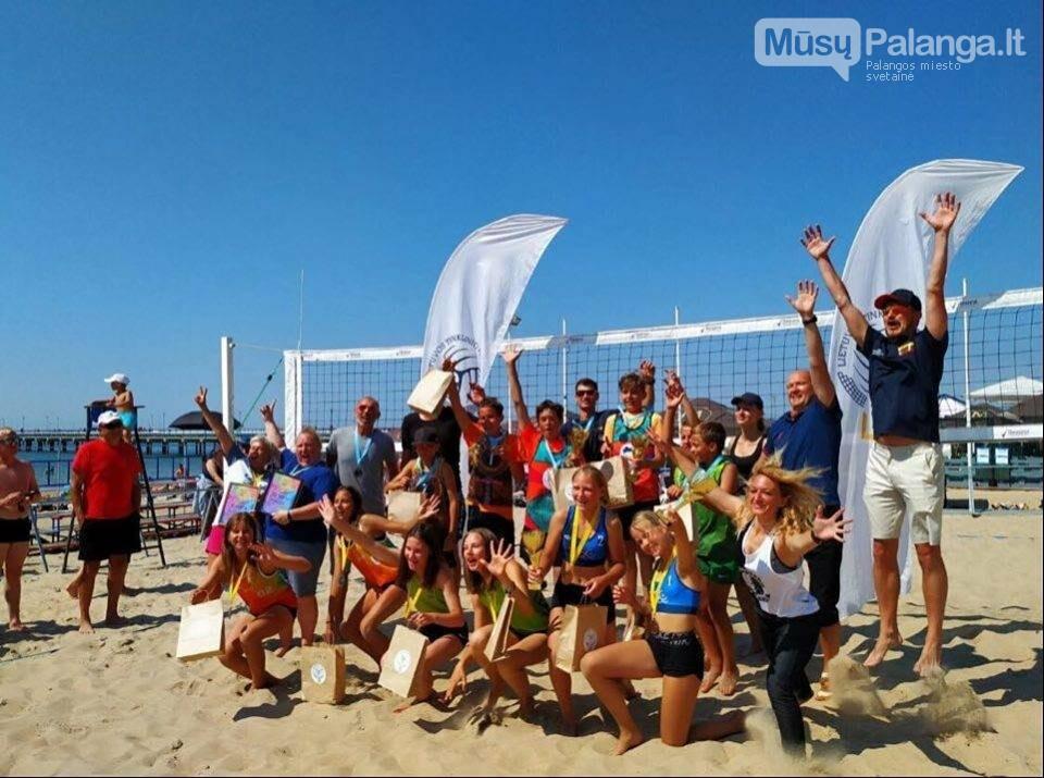 Palangoje pasibaigus U-14 ir U-16 jaunimo paplūdimio tinklinio čempionatui emocijos dar nenuslūgo, nuotrauka-10, Mato Baranausko nuotr.