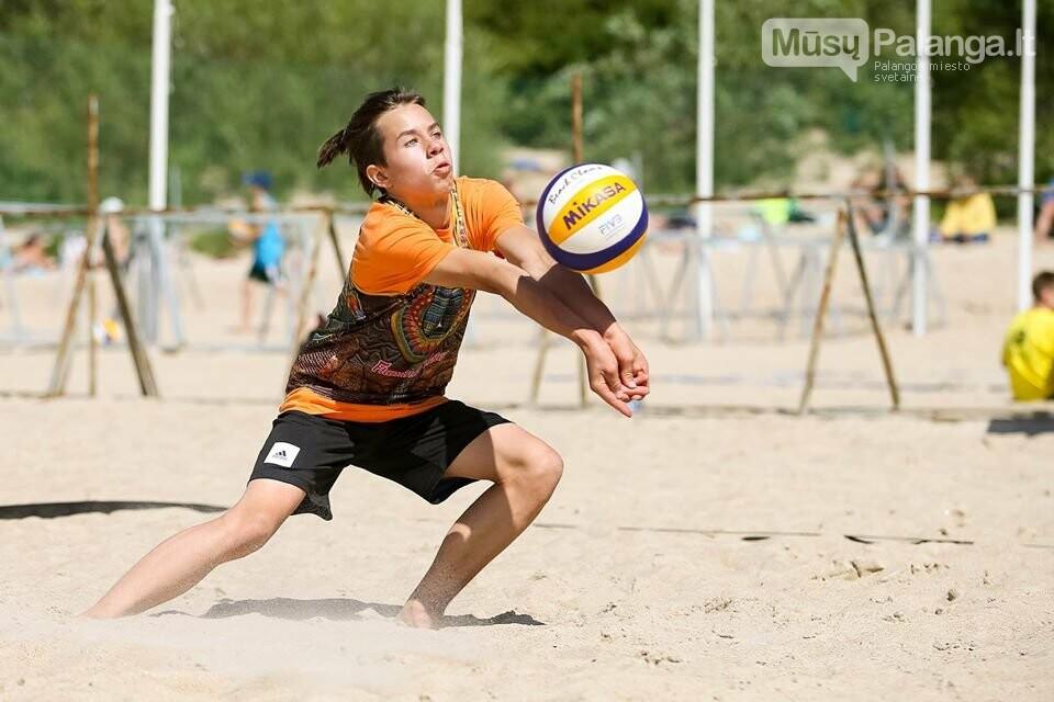 Palangoje pasibaigus U-14 ir U-16 jaunimo paplūdimio tinklinio čempionatui emocijos dar nenuslūgo, nuotrauka-13, Mato Baranausko nuotr.