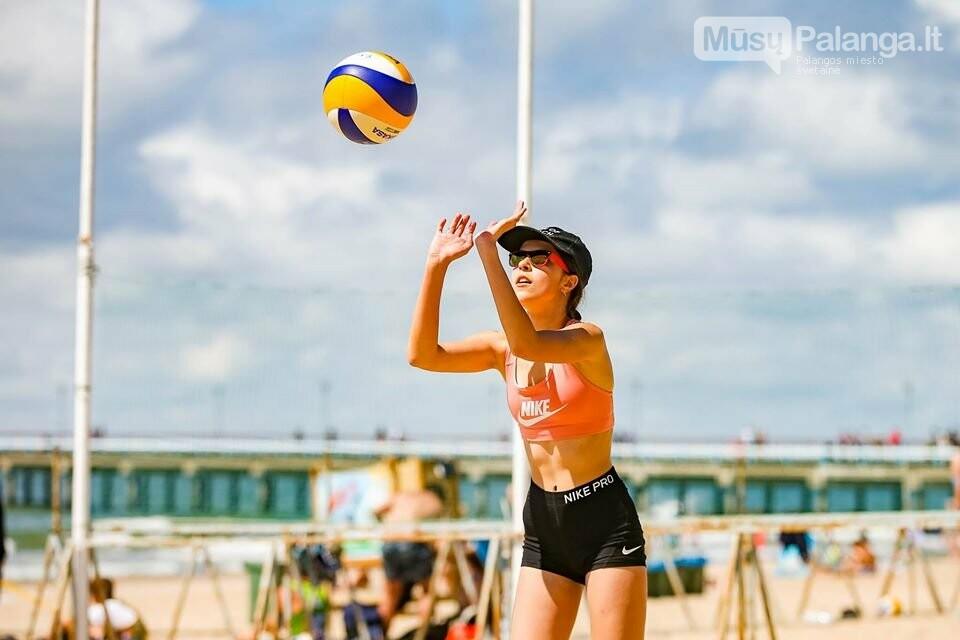 Palangoje pasibaigus U-14 ir U-16 jaunimo paplūdimio tinklinio čempionatui emocijos dar nenuslūgo, nuotrauka-20, Mato Baranausko nuotr.