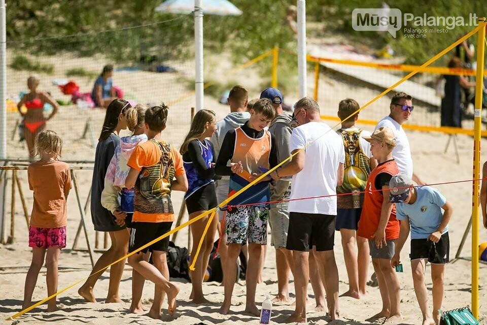 Palangoje pasibaigus U-14 ir U-16 jaunimo paplūdimio tinklinio čempionatui emocijos dar nenuslūgo, nuotrauka-43, Mato Baranausko nuotr.
