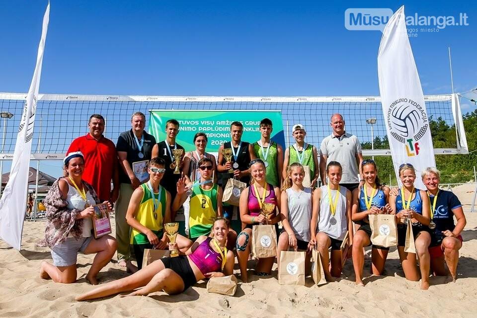 Palangoje pasibaigus U-14 ir U-16 jaunimo paplūdimio tinklinio čempionatui emocijos dar nenuslūgo, nuotrauka-51, Mato Baranausko nuotr.