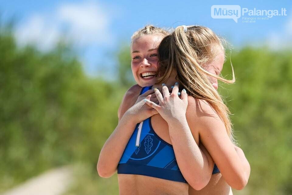 Palangoje pasibaigus U-14 ir U-16 jaunimo paplūdimio tinklinio čempionatui emocijos dar nenuslūgo, nuotrauka-52, Mato Baranausko nuotr.