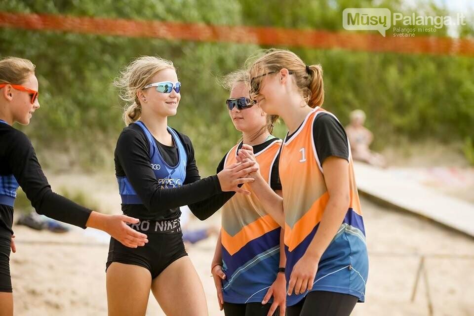 Palangoje pasibaigus U-14 ir U-16 jaunimo paplūdimio tinklinio čempionatui emocijos dar nenuslūgo, nuotrauka-53, Mato Baranausko nuotr.