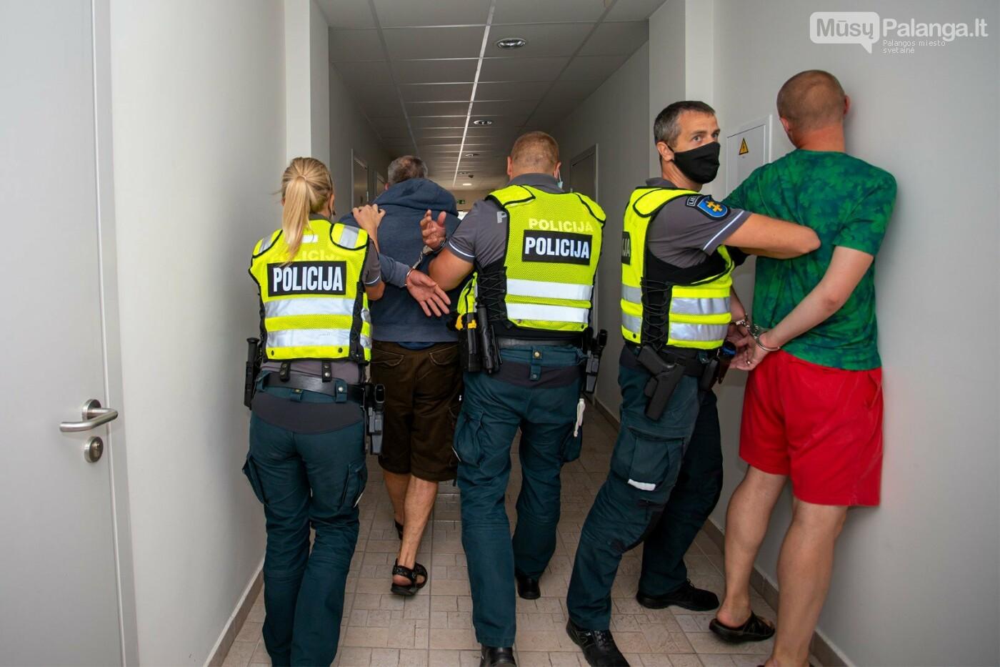 Išrinkta geriausia Klaipėdos apskrities policijos pareigūnų komanda, nuotrauka-4