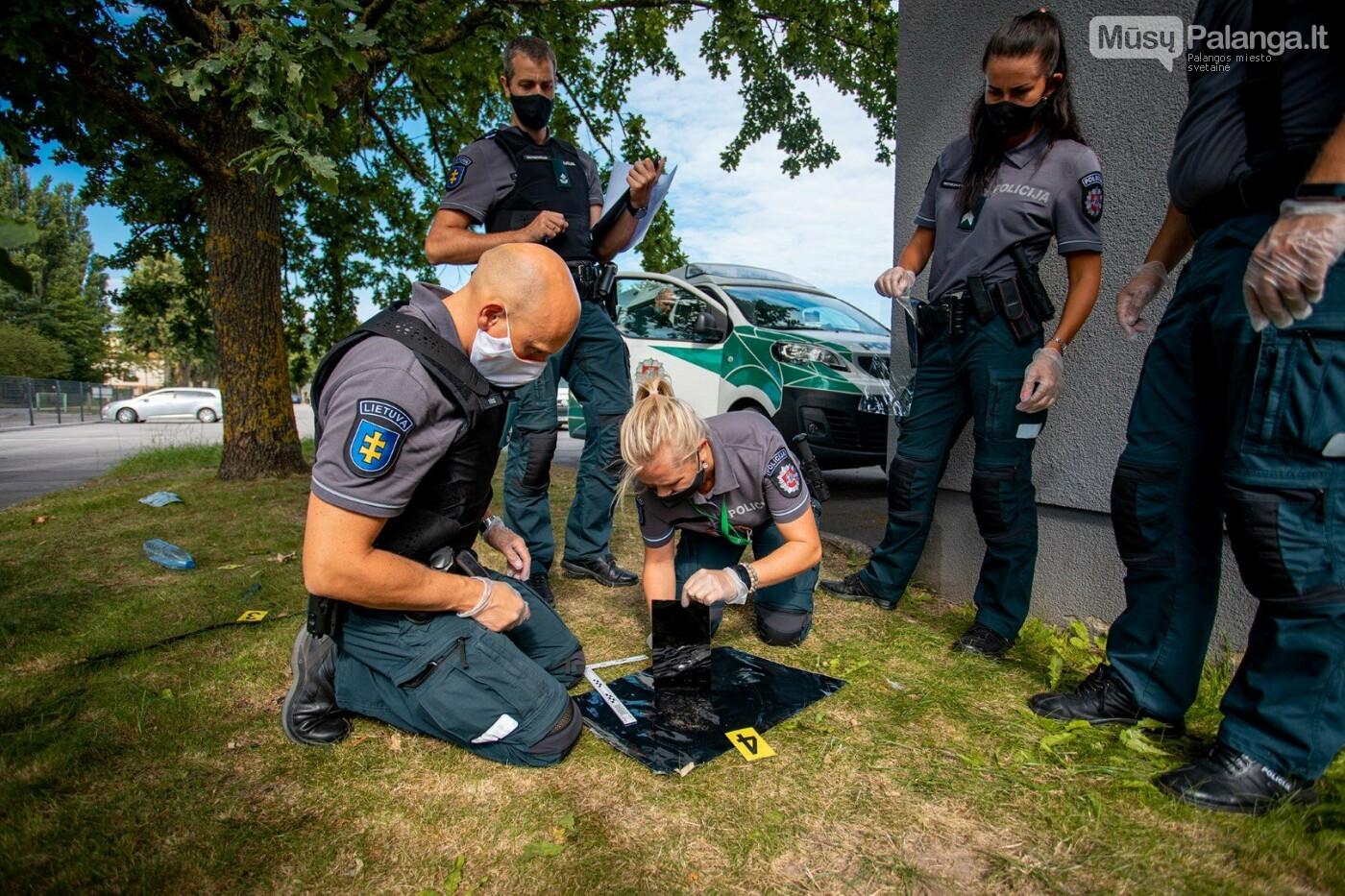Išrinkta geriausia Klaipėdos apskrities policijos pareigūnų komanda, nuotrauka-5