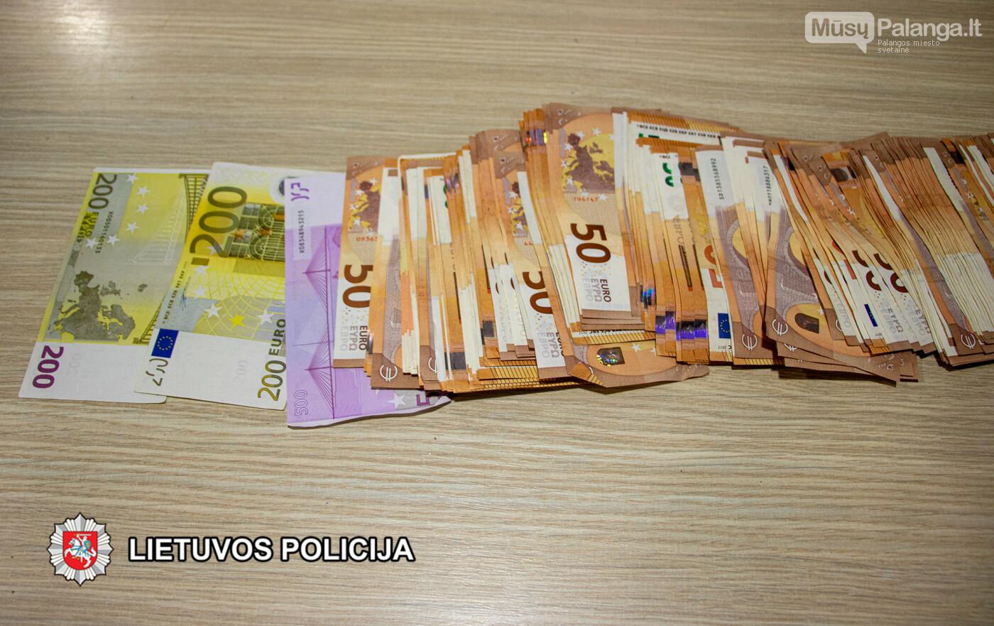Šiandien Klaipėdoje su įkalčiais sulaikyti trys asmenys įtariami sukčiaujant išvilioję 13 000 eurų, nuotrauka-2