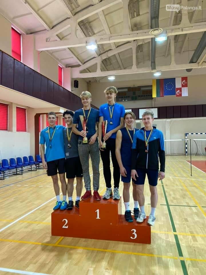Iš Lietuvos jaunių iki 19 metų asmeninio badmintono čempionato Palangai parvežė sidabrą ir bronzą, nuotrauka-4