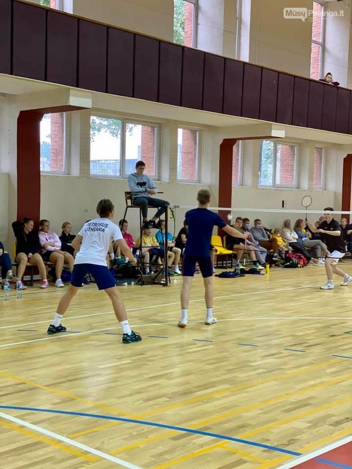 Iš Lietuvos jaunių iki 19 metų asmeninio badmintono čempionato Palangai parvežė sidabrą ir bronzą, nuotrauka-5