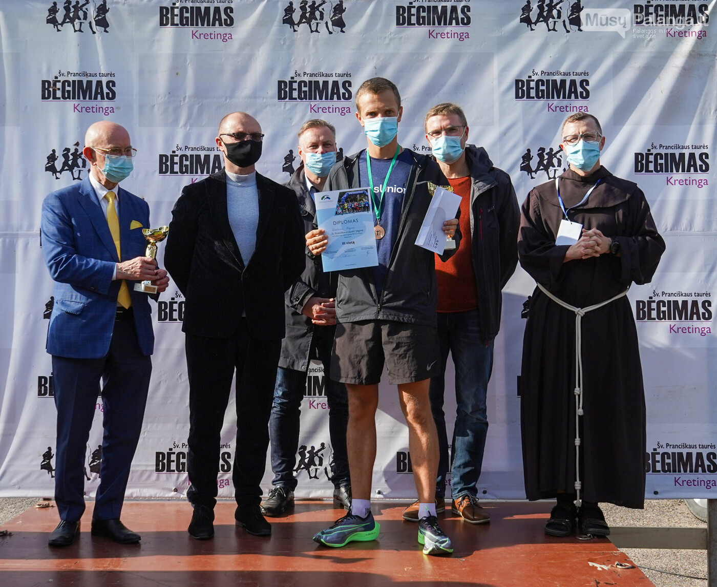 Dalyvauti labdaringame bėgime į Kretingą atvyko net ministras, nuotrauka-2