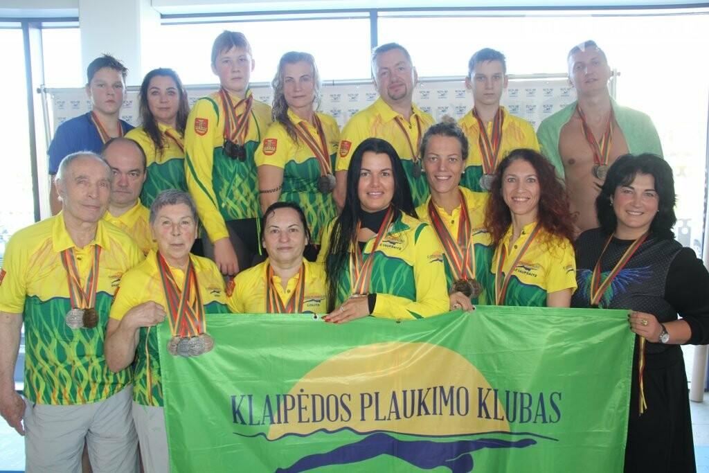 Plaukimo varžybose Palangoje ant garbės pakylos kopė ir olimpietis, ir pasaulio čempionas, nuotrauka-13, Kauno plaukimo federacijos nuotr.