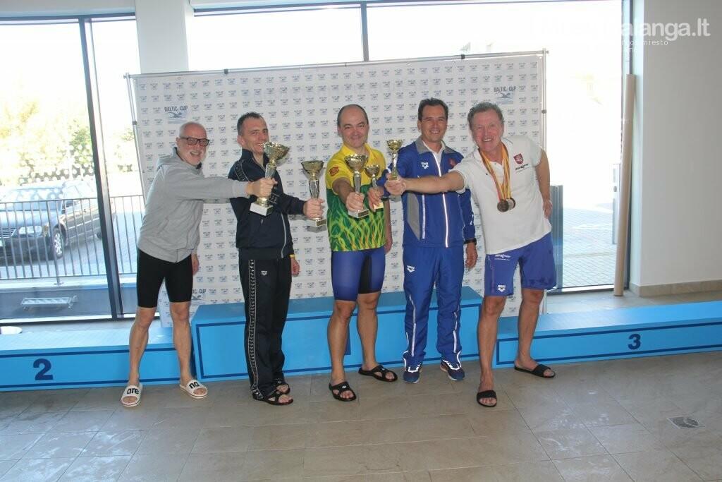 Plaukimo varžybose Palangoje ant garbės pakylos kopė ir olimpietis, ir pasaulio čempionas, nuotrauka-16, Kauno plaukimo federacijos nuotr.