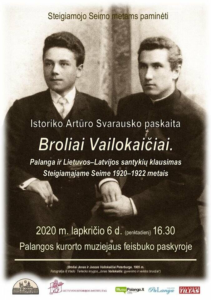 Ar nustebintų Palanga brolius Vailokaičius šiandien?  , nuotrauka-1
