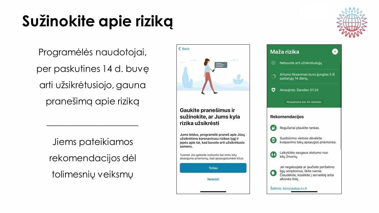 Stabdyti viruso plitimą Lietuvoje padės mobilioji programėlė, nuotrauka-4