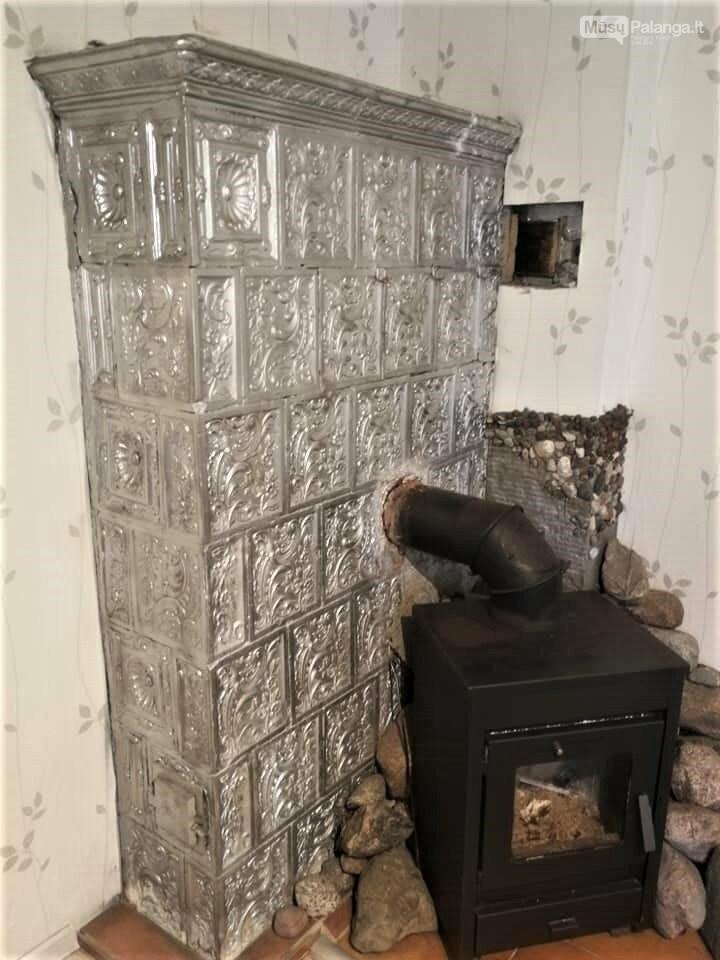 Išradingai padidinant šildymo efektyvumą.  Kretingos raj. Jokūbavo kaim.  Kokliai Kokliai XIX a. pab. – XX a. pr., Jolanta Mažeikaitė