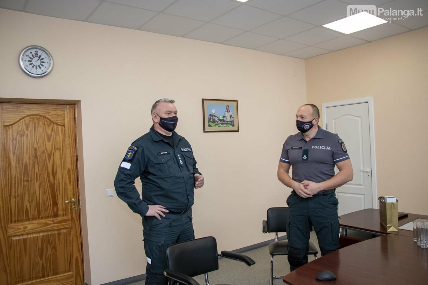 Pristatytas naujasis Skuodo r. PK viršininkas palangiškis Kęstutis Bončkus, nuotrauka-1