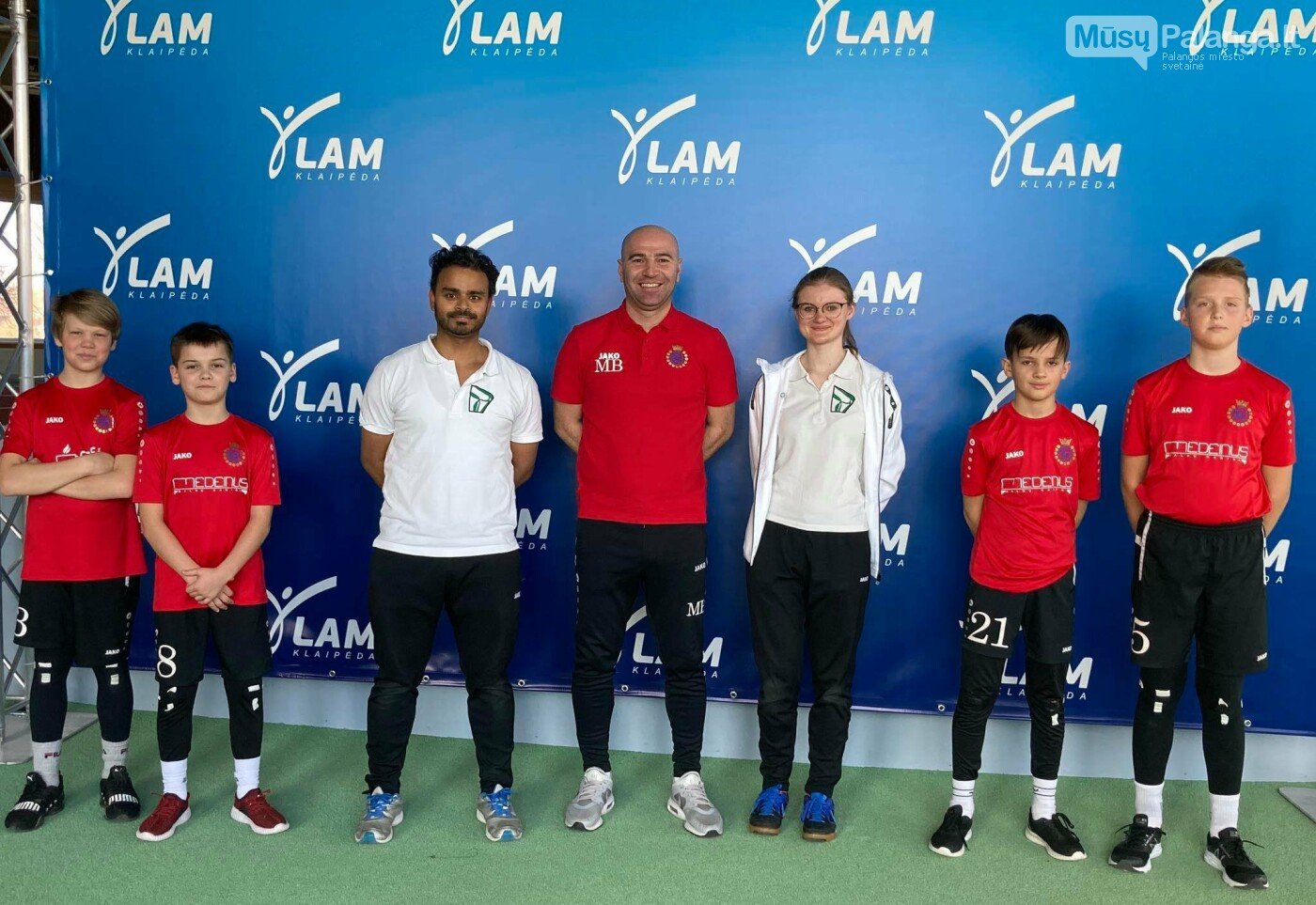 """Futbolo akademija """"Gintaras"""" pradeda bendradarbiavimą ir partnerystę su """"Dubey kineziterapija ir sportas"""" organizacija, nuotrauka-1"""