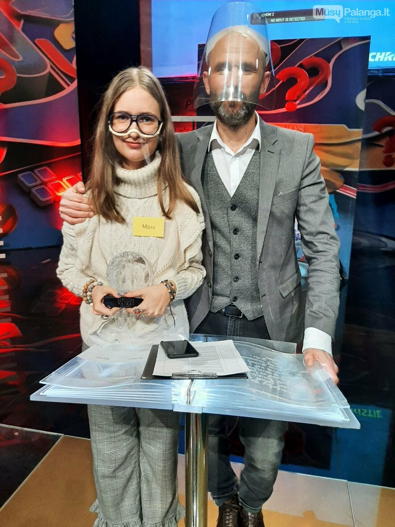 """Mūza Svetickaitė projekto """"Lietuvos tūkstantmečio vaikai"""" vienuoliktokų finale laimėjo I vietą, nuotrauka-1"""