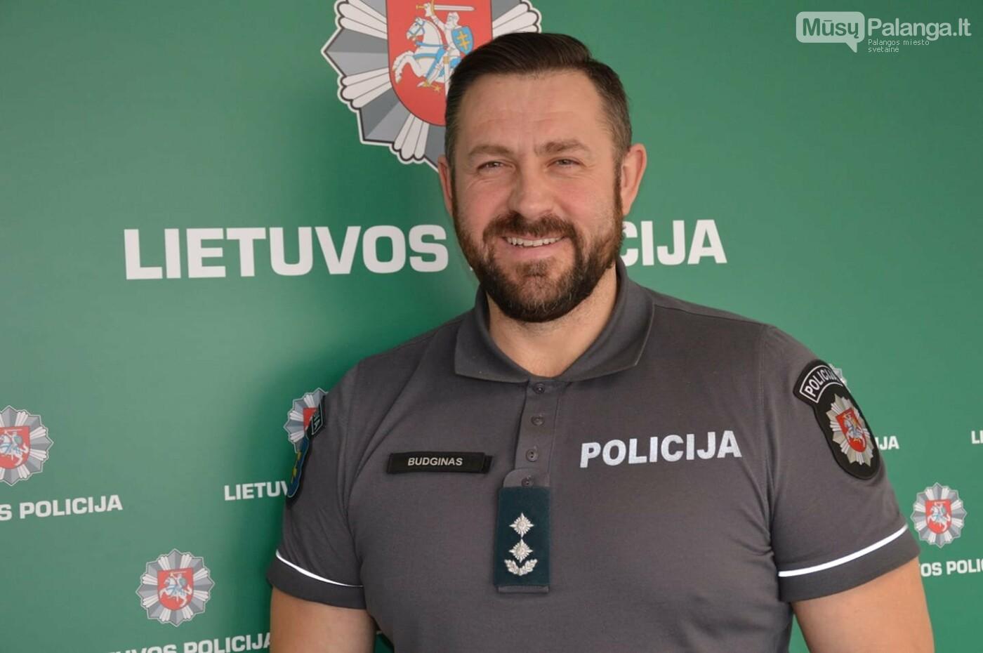 Klaipėdos apskr. VPK Palangos m. policijos komisariato viršininkas Algirdas Budginas