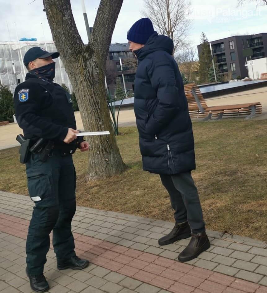 Nuotoliniu būdu pristatyti Palangos miesto policijos komisariato veiklos rezultatai, nuotrauka-4