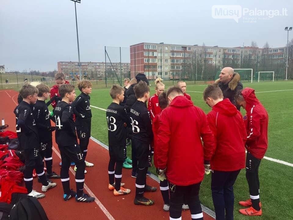 """Palangos SC - FK """"Gintaras"""" laimėjo antrą kartą iš eilės, nuotrauka-1"""