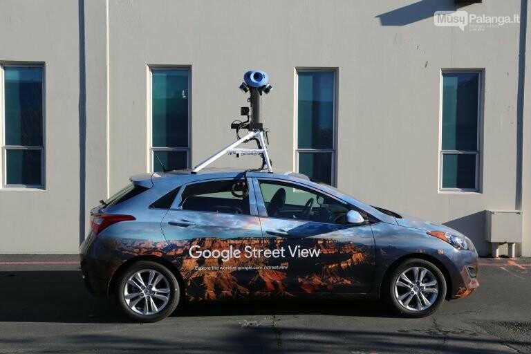 """Į Lietuvos kelius grįžta """"Google Street View"""" automobiliai, nuotrauka-2"""