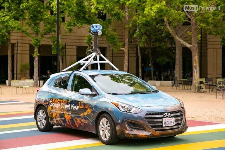 """Į Lietuvos kelius grįžta """"Google Street View"""" automobiliai, nuotrauka-1"""