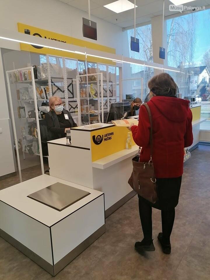 Duris atvėrė naujas Lietuvos pašto skyrius Palangoje, nuotrauka-4
