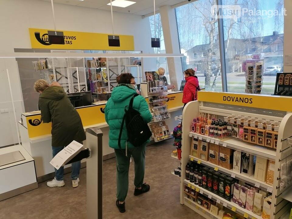 Duris atvėrė naujas Lietuvos pašto skyrius Palangoje, nuotrauka-6