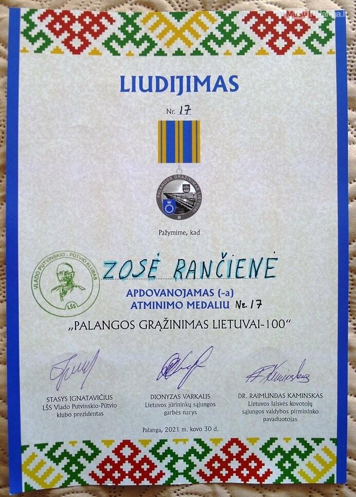 Kurorto šauliai minėjo Palangos grąžinimo Lietuvai šimtmetį, nuotrauka-1