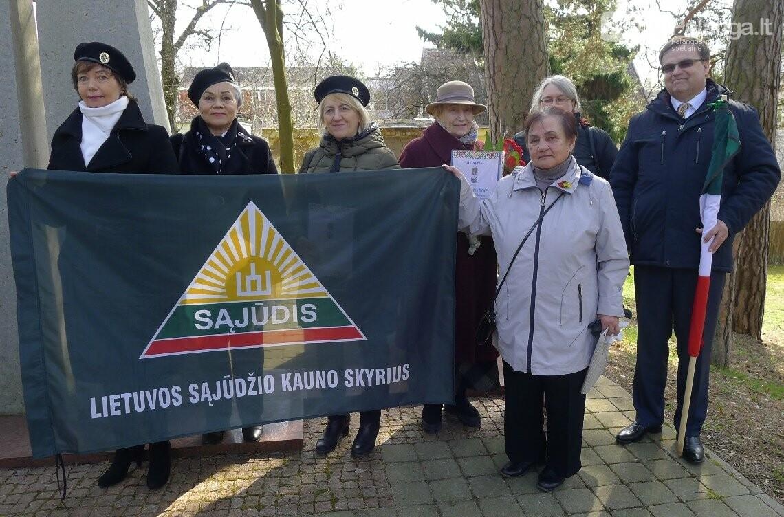 Kurorto šauliai minėjo Palangos grąžinimo Lietuvai šimtmetį, nuotrauka-6