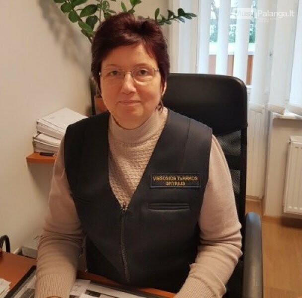 Viešosios tvarkos skyriaus vedėjo pavaduotoja Danutė Mikienė