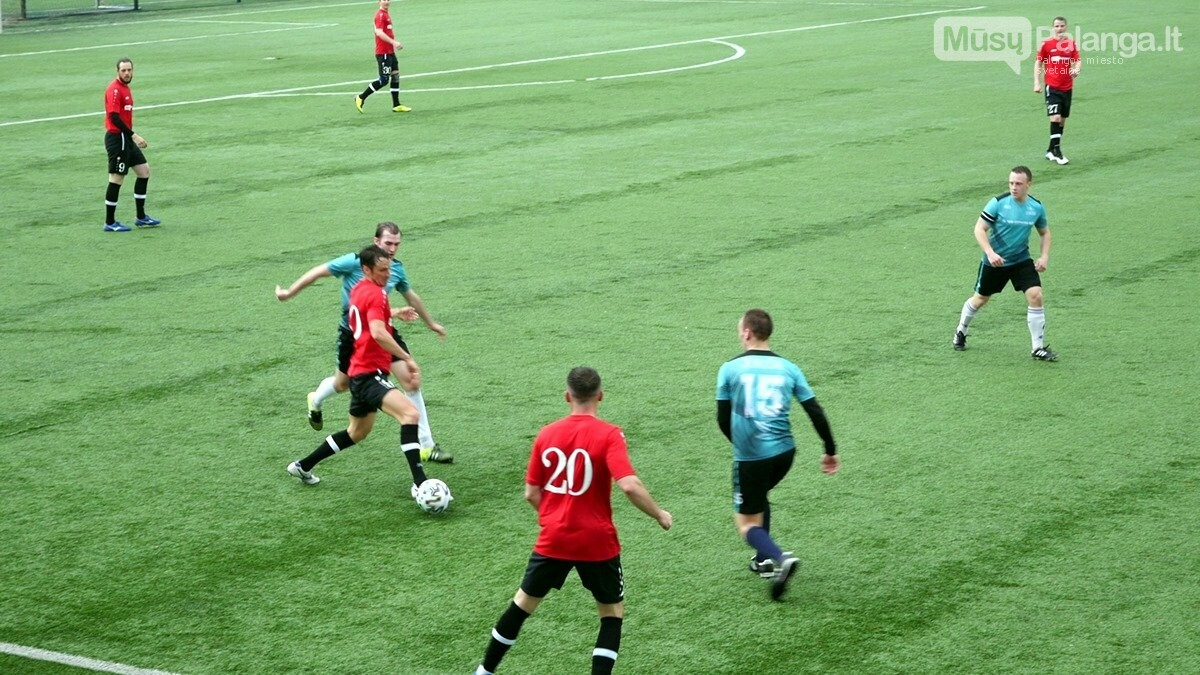 """FK """"Gintaras"""" laimėjo permainingą debiutinę dvikovą, nuotrauka-11"""