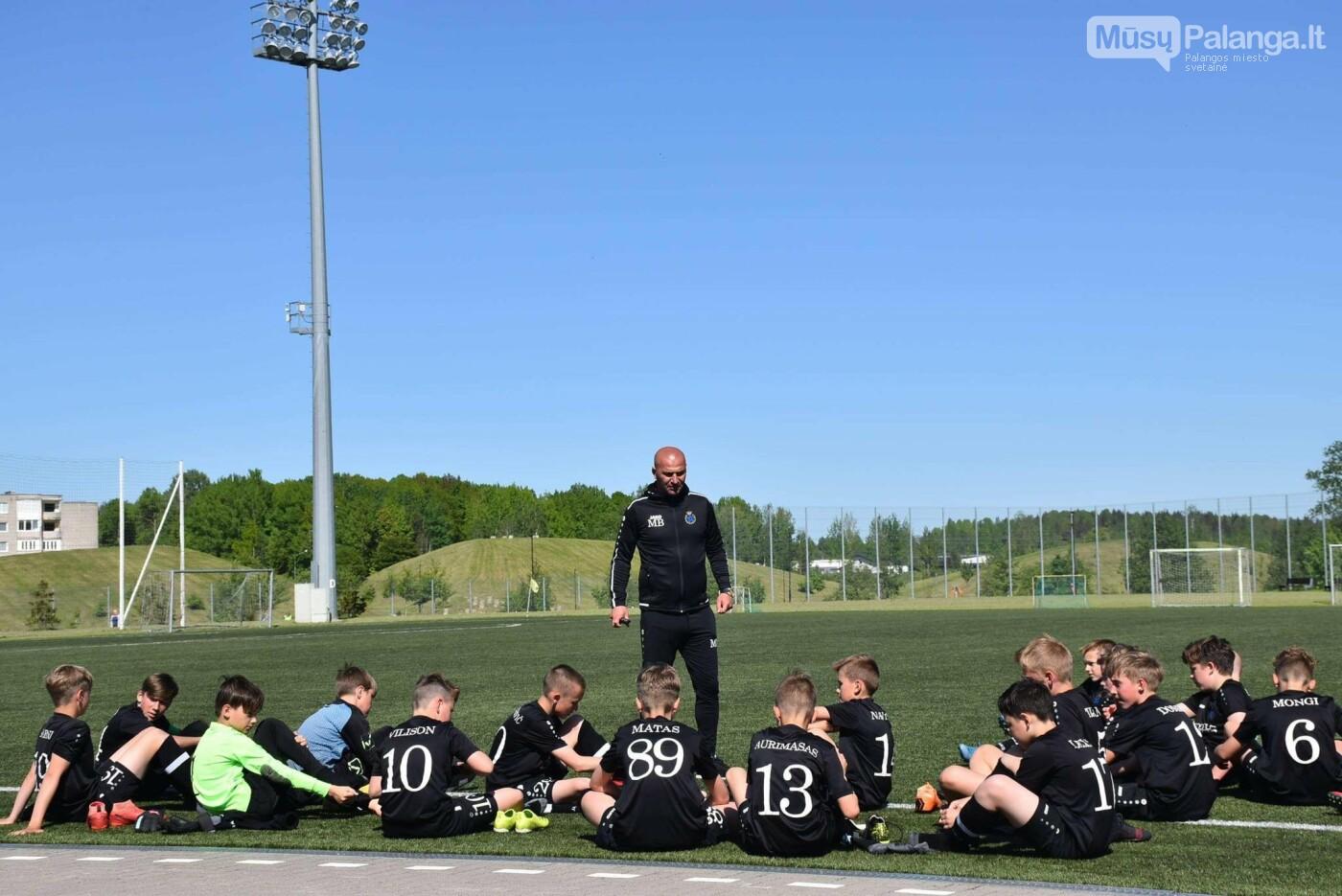 """Palangos SC - FK """"Gintaras"""" 6:1 įveikė Mažeikių """"Atmosferos"""" futbolininkus, nuotrauka-1"""