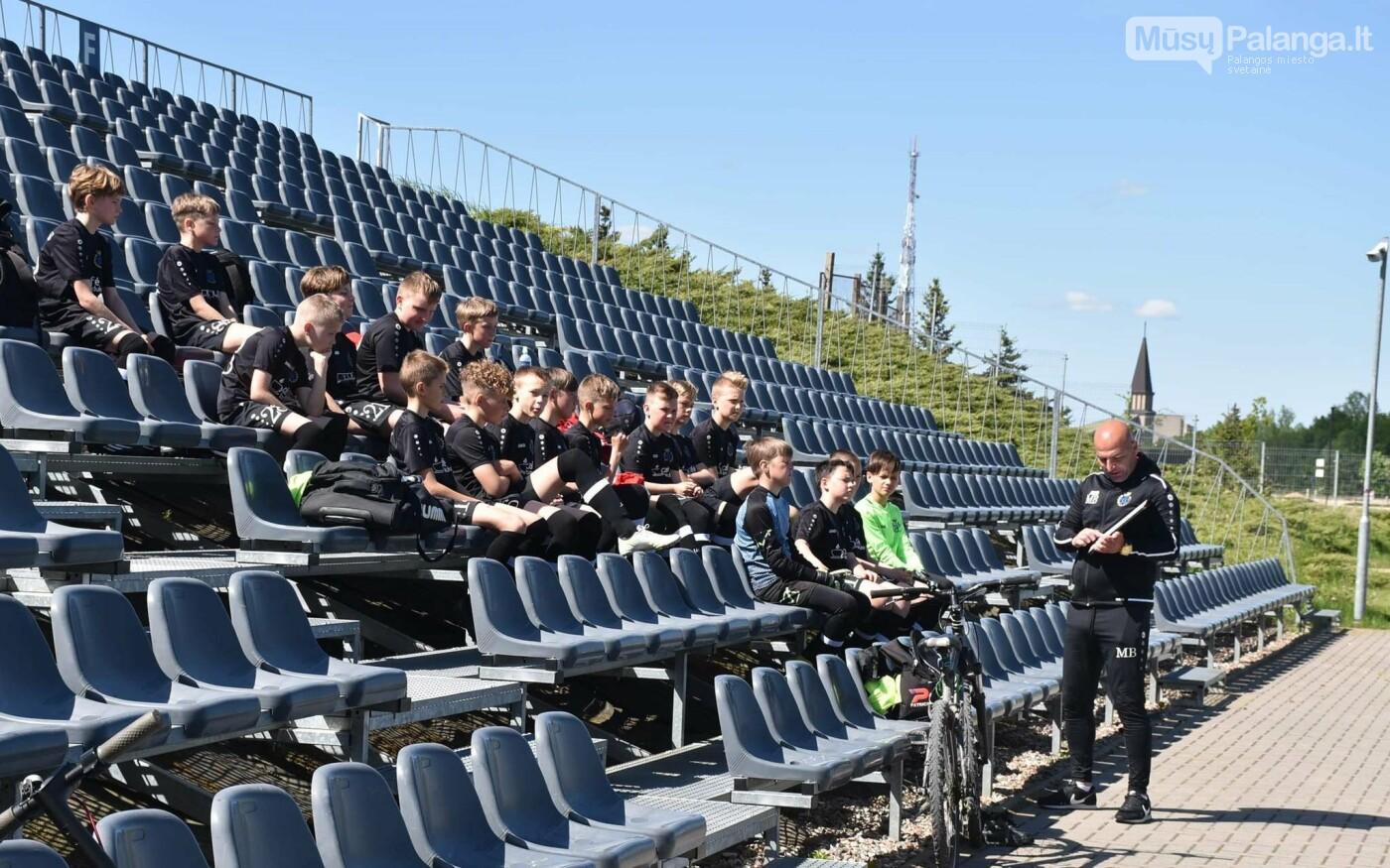 """Palangos SC - FK """"Gintaras"""" 6:1 įveikė Mažeikių """"Atmosferos"""" futbolininkus, nuotrauka-2"""