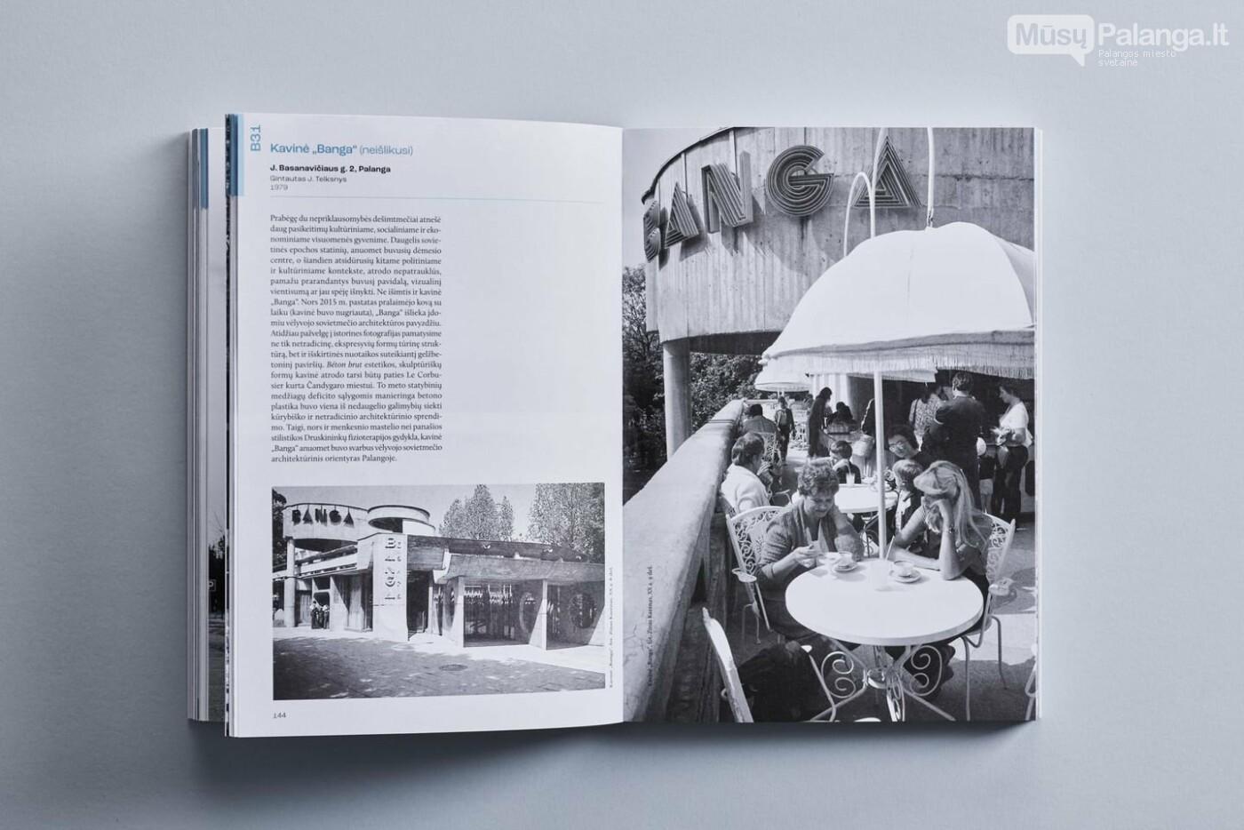 """Neišlikusi kavinė """"Banga"""" leidyklos """"Lapas"""" išleistoje knygoje """"Palanga. Architektūros gidas"""". Roberto Daskevičiaus nuotrauka"""