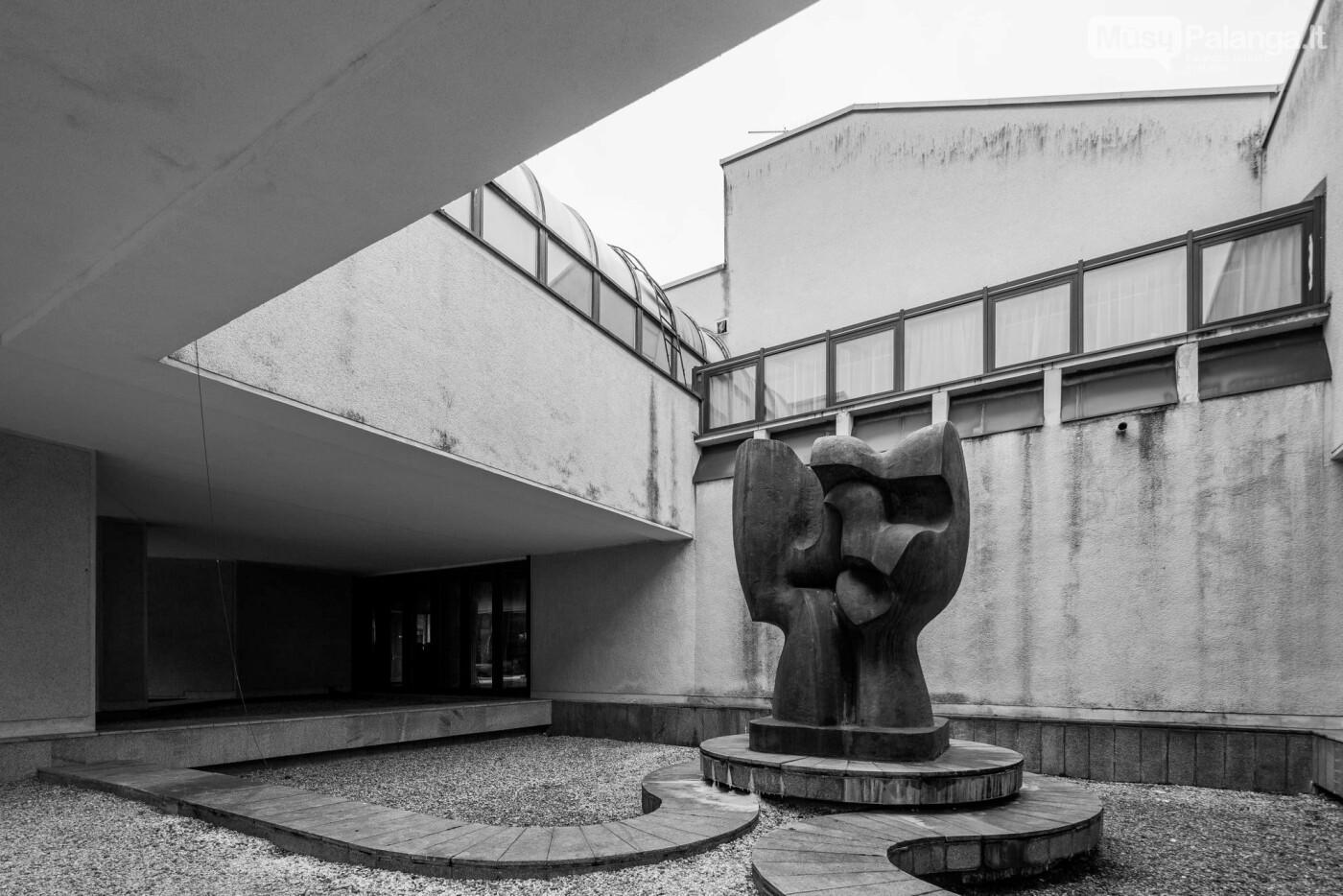 """SSRS Ministrų Tarybos svečių namai – dabar viešbutis """"Auska"""". Norberto Tukaj / leidyklos """"Lapas"""" archyvo nuotrauka"""