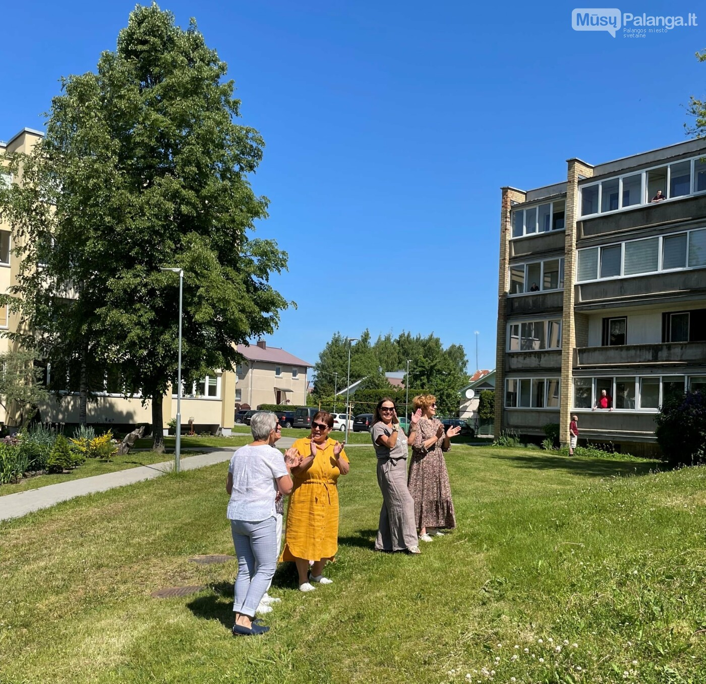 Netikėti bendruomenės susitikimai. Džiaugsmo kiemas, nuotrauka-6