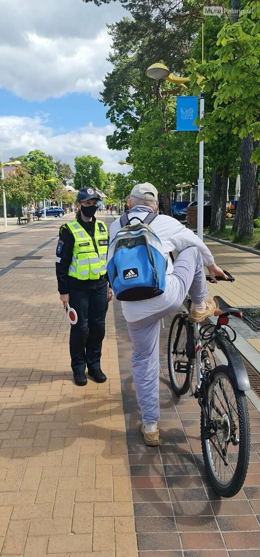 Nuo birželio iki rugsėjo J. Basanavičiaus gatvėje draudžiamas elektrinių paspirtukų, dviračių bei velomobilių eismas, nuotrauka-1