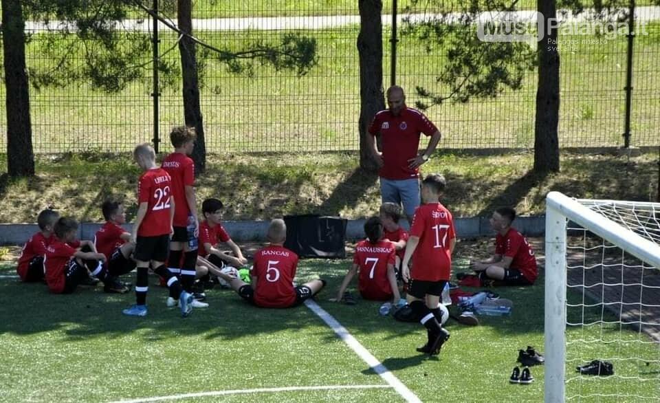 """FA """"Gintaras"""" U12 komanda užėmė antrą vietą """"Capelli Sport Cup 2021"""" turnyre  , nuotrauka-10"""