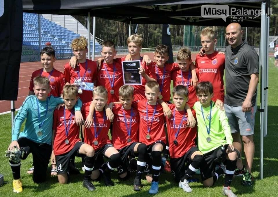 """FA """"Gintaras"""" U12 komanda užėmė antrą vietą """"Capelli Sport Cup 2021"""" turnyre  , nuotrauka-5"""