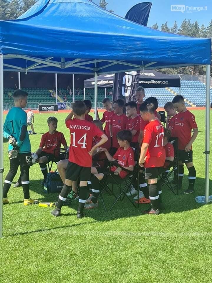 """FA """"Gintaras"""" U12 komanda užėmė antrą vietą """"Capelli Sport Cup 2021"""" turnyre  , nuotrauka-34"""